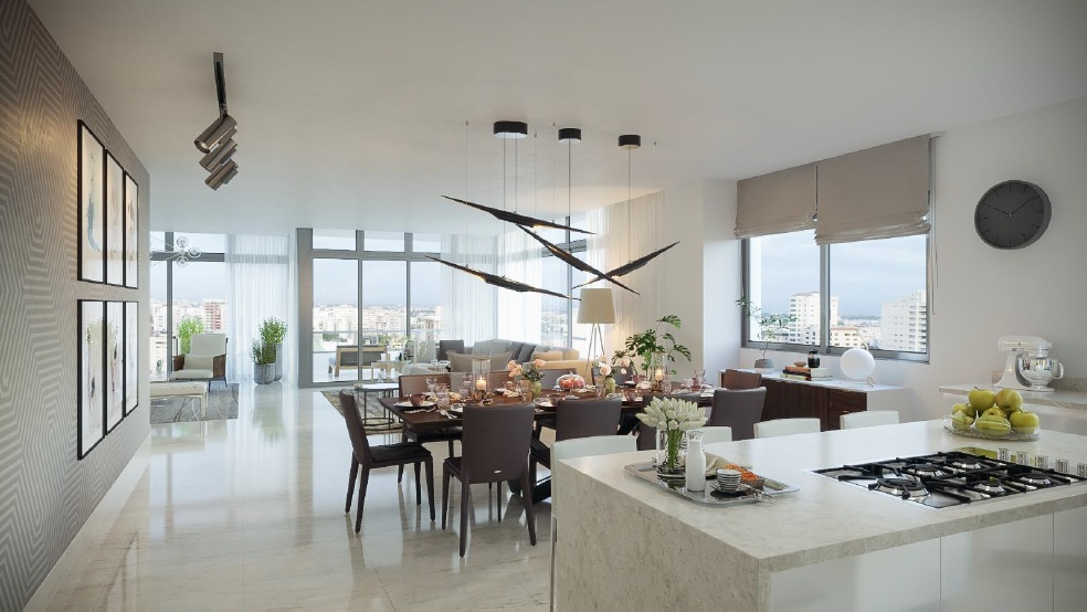 Apartamentos en venta santo domingo. www.inmobiliariaeliterd.com 5