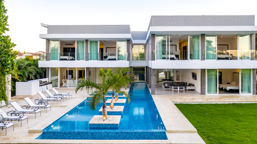 Villa en venta, Punta Cana. www.inmobiliariaeliterd.com 22